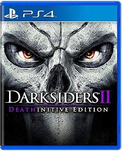 Jogo Darksiders II Death Initive Edition - PS4 Mídia Física Usado