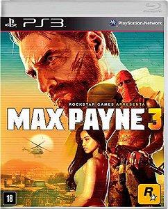 Jogo Max Payne 3 - Ps3 Mídia Física Usado