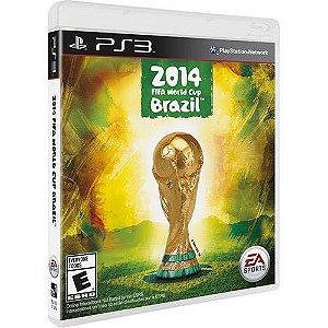 Jogo Copa do Mundo Fifa Brasil 2014 - Ps3 Mídia Física Usado