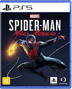 Jogo Spider Man: Miles Morales - Ps5 Mídia Física