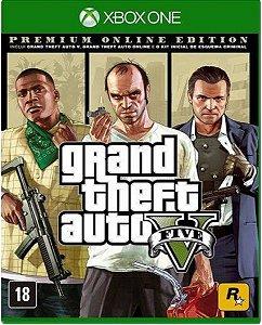 Jogo GTA V Premium Edition - Xbox One Mídia Física