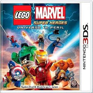 Jogo Lego Marvel Super Heroes - Nintendo 3DS Usado