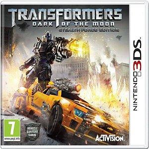 Jogo Transformers Dark Of The Moon - Nintendo 3DS Usado