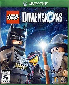 Jogo Lego Dimensions - Xbox One Mídia Física Usado