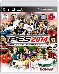 Jogo Pro Evolution Soccer 2014 - Ps3 Mídia Física Usado