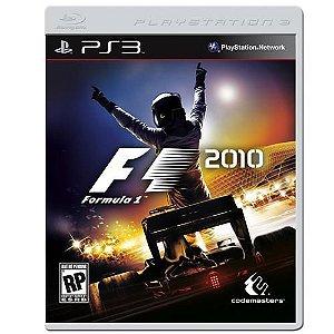 Jogo Formula 1 2010 - Ps3 Mídia Física Usado