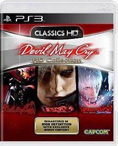 Jogo Devil May Cry HD Collection - Ps3 Mídia Física Usado