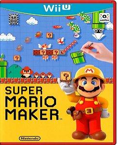 Jogo Super Mario Maker - Nintendo Wii U Usado