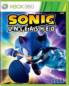 Jogo Sonic Unleashed - Xbox 360 Mídia Física Usado