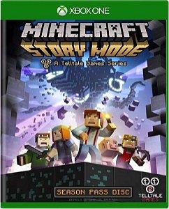 Jogo Minecraft Story Mode - Xbox One Mídia Física Usado