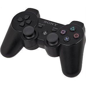 Controle Original Sony Preto - Ps3 Usado