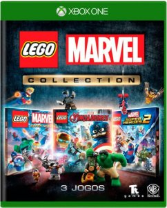 Jogo Lego Marvel Collection - Xbox One Mídia Física