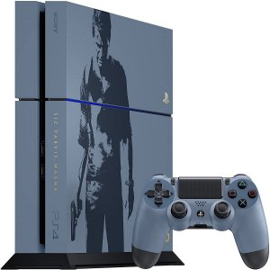 Sony Playstation 4 500GB Limited Edition Uncharted Seminovo