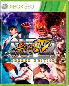 Jogo Street Fighter IV Arcade Edition - Xbox 360 Usado