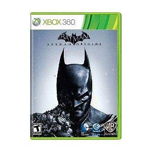 Jogo Batman Arkham Origins - Xbox 360 Mídia Física Usado