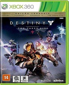 Jogo Destiny The Taken King - Edição Lendária Xbox 360 Mídia Física Usado
