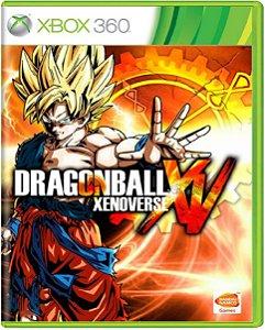 Jogo Dragon Ball Xenoverse XV - Xbox 360 Mídia Física Usado