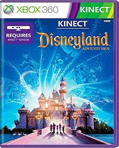 Jogo Kinect Disneyland Adventures Xbox360 Mídia Física Usado