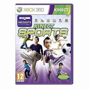Jogo Kinect Sports - Xbox 360 Mídia Física Usado