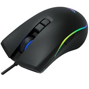 Mouse Gamer Rgb Com Fio Usb 2400 Dpi Aula F806