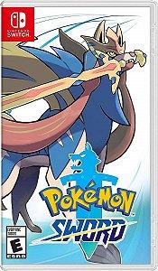 Jogo Pokémon Sword - Nintendo Switch Usado