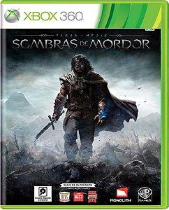Jogo Terra Média Sombras de Mordor - Xbox 360 Mídia Física Usado