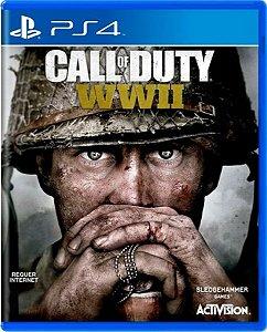 Jogo Call of Duty WW 2 - Ps4 Mídia Física Usado