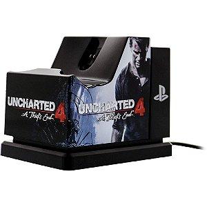 Base para carregar controle de PS4 Uncharted Edition