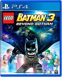 Jogo Lego Batman 3 Beyond Gotham - Ps4 Mídia Física Usado