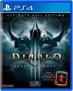 Jogo Diablo III Reaper of Souls - Ps4 Mídia Física Usado