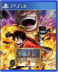 Jogo One Piece: Pirate Warriors 3 - PS4 Mídia Física Usado