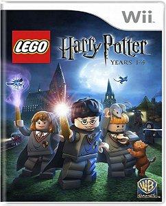Jogo Lego Harry Potter Years 1-4 - Nintendo Wii Mídia Física Usado