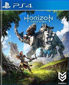 Jogo Horizon Zero Dawn - Ps4 Encartelado Usado