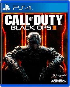 Jogo Call of Duty Black Ops III - Ps4 Mídia Física Usado