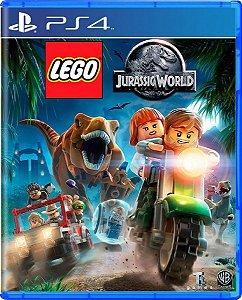 Jogo Lego Jurassic World - Ps4 Mídia Física Usado