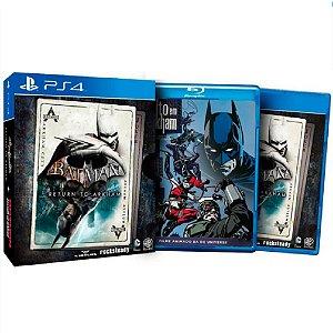 Jogo Batman Return To Arkham - Ps4 Mídia Física Usado