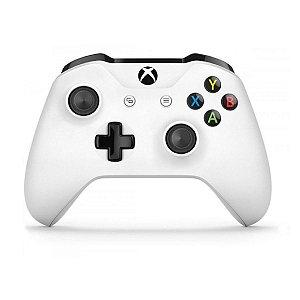 Controle Original Microsoft Branco - Xbox One Usado