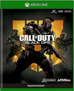Jogo Call of Duty Black Ops 4 -Xbox One Mídia Física Usado