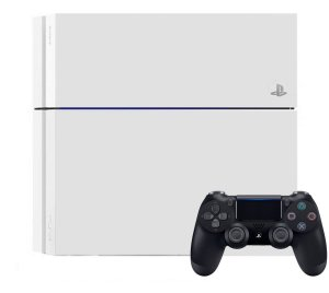 Playstation 4 500GB Branco Usado