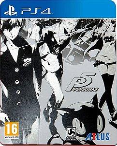 Jogo Persona 5 Steelbook Edition - Ps4 Mídia Física Usado