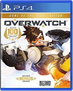 Jogo Overwatch GOTY Edition - Ps4 Mídia Física Usado