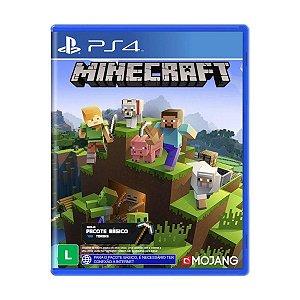 Jogo Minecraft - Ps4 Mídia Física