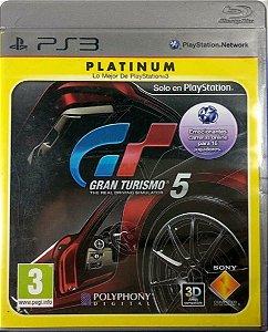 Jogo Gran Turismo 5 Platinum - PS3 Mídia Física Usado