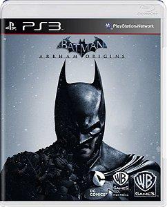 Jogo Batman Arkham Origins - Ps3 Mídia Física Usado