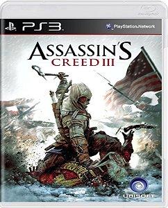 Jogo Assassins Creed 3 - Ps3 Mídia Física Usado