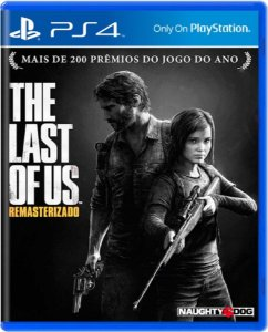 Jogo The Last of Us Remasterizado - Ps4 Mídia Física Usado
