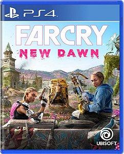 Jogo Farcry New Dawn - Ps4 Mídia Física Usado