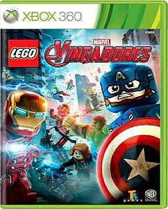Jogo Lego Marvel Vingadores - Xbox 360 Mídia Física Usado