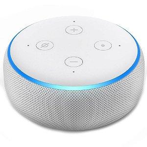 Caixa De Som Echo Dot Amazon Alexa 3ª Geração