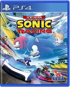 Jogo Team Sonic Racing - PS4 Mídia Física